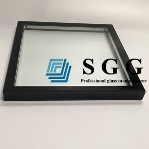 5mm+12A+5mm insulated glass panel, 5mm+ 5mm IGU glass factory, 12A  spacer hollow glass