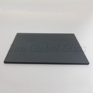 5mm dark grey float glass factory in China, 5mm grey tinted glass supplier, 5mm dark grey glass price