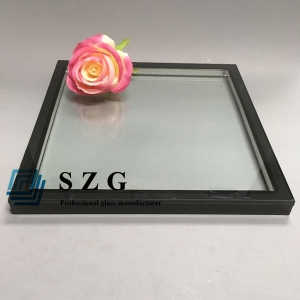 6mm+6mm argon spacer insulating glass, 15A argon spacer double   glazing, 6mm+15A+6mm soundproof glass