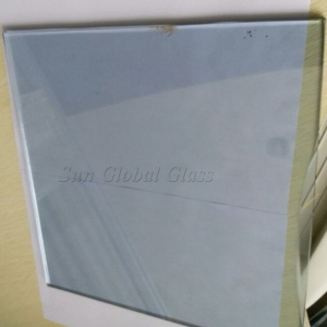 6mm Blue Low E Solar Control Glass, 6mm Blue Tinted Low E Glass, 6mm Blue Color Coating Low E Glass
