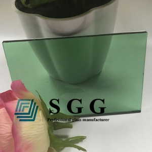 6mm light green tinted float glass, 6mm French green tinted glass, 6mm green float glass