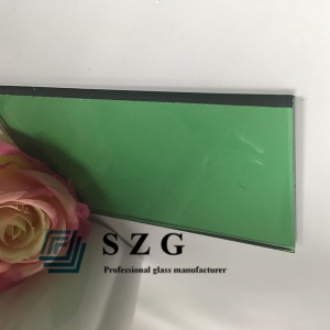 8MM DARK GREEN TINTED FLOAT GLASS, 8MM TEMPERABLE DARK GREEN COLOR GLASS,8MM DARK GREEN TINTED GLASS