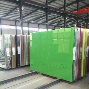 8mm lacquered glass, customized design 8mm colored painted glass panels, jumbo size 8mm colourful lacquered glass
