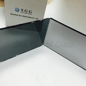 8mm light grey reflective glass, solar control 8mm euro grey reflective glass, 8mm euro grey reflective float glass