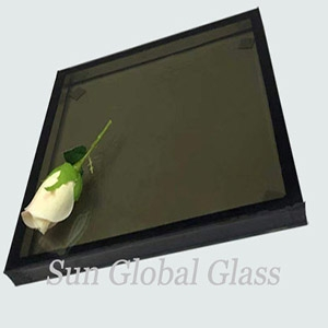 9.52mm+12A+10mm Low E reflective insulated glass, 31.52mm Low E reflective glass panel, double glazed low E reflective glass.