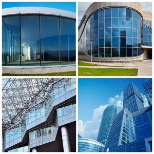Architectural Glass Walls Usage 8mm Clear Tempered Glass+12A+17.52mm Heat Strengthened Low E Glass Laminated, Glass Facade Application 37.52mm Low E HS Laminated Insulating Glass Supplier
