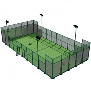 CE standard complete padel tennis court glass price, full set portable paddle court tennis cost in China,Indoor and outdoor Padel Court construction systems for sale