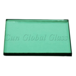 China 6mm dark green float glass supplier, green tinted float glass 6mm, 6mm dark green glass sheet