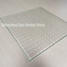 China 10mm anti slip glass floor panel,building non slip flooring glass,China supplier 10mm decorative tempered antislip glass for stair factory