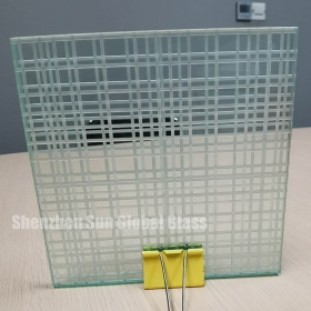 China 10mm double side fluted frost glass,10mm frosted ribbed fluted glass,10mm two side fluted Reeded glass for toilet partition factory