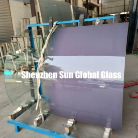 China 10mm gradient glass,10mm gradient effect glass,10mm gradient safety glass factory