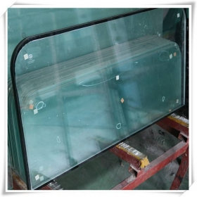 China 10mm half tempered glass,10mm half toughened glass supplier,10mm heat strengthened glass factory