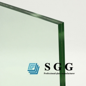China 12.76mm clear laminated glass panel, 6+0.76+6 PVB sandwich glass on sale, 662 laminated glass manufacturer in China factory