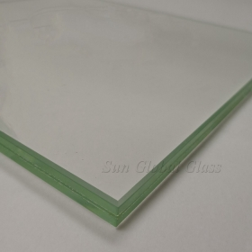 China 12.89mm SGP tempered laminated glass, 6mm+0.89+6mm SGP laminated toughened glass, 12.89mm hurricane proof laminated glass factory