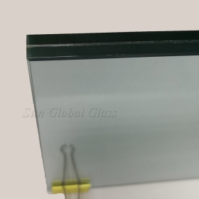 China 13.52mm low e tempered laminated glass,664 low e ESG VSG, 6mm+6mm low emissivity safety glass factory