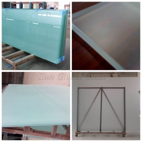 China 15mm Acid Etching Glass, 15mm Chemical Acid Glass, Translucent 15mm Acid Etched Glass factory