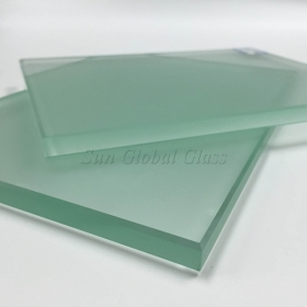 China 15mm acid etched tempered glass,15mm frosted toughened glass,customized size frosted 15mm safety tempered glass factory