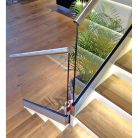 China 17.52mm tempered laminated glass railing supplier, 17.52mm toughened laminated glass railing manufacturer factory