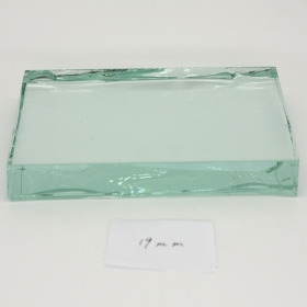 China 19mm clear float glass manufacturer factory