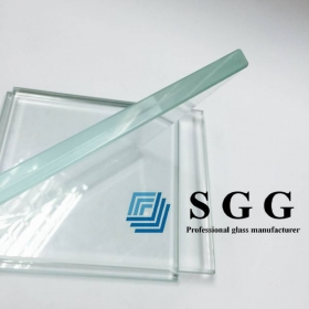 China 19mm low iron glass factory, 19mm extra clear glass price in  China,19mm ultra clear glass panel factory