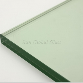 China 22.28mm SGP laminated toughened glass,10+10mm SGP ESG VSG,hurricane proof SGP Sentry laminated glass factory
