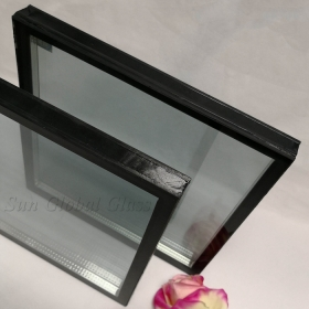 China 31.04mm tempered laminated insulated glass, 31.04mm triple glazed glass, 9.52mm tempered laminated glass+12mm gap+9.52mm tempered laminated glass factory