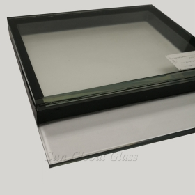 China 33.52mm dgu laminated glass ,8mm+12mm spacer+13.52mm insulated glass,double glazed energy efficient glass factory