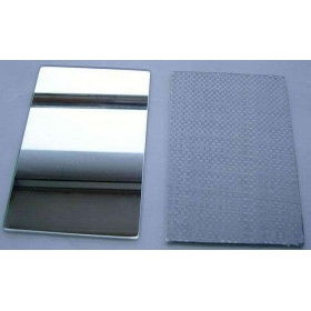 China 3mm CAT-II Woven fabric film safety mirror,3mm CAT-II glass and  mirror in China,3mm waterproof safety  mirror factory
