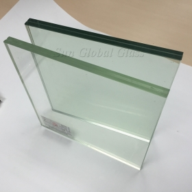 China 40.28MM SGP Clear Tempered Laminated Glass, 19.19.3 SGP Sentry Toughened Laminated Glass,  Safety SGP Sentry Hurricane Proff Glass factory