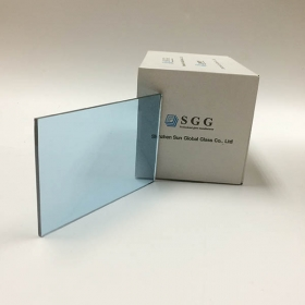 China 5 mm light blue tinted float glass,light blue float glass in stock,ford  blue tinted float glass manufacturer factory