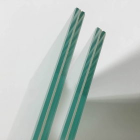 China 55.1 clear laminated glass supplier, clear laminated glass 10.38mm, clear laminated glass manufacturer factory