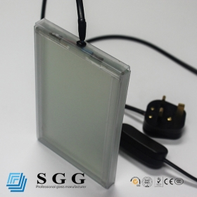 China 5mm+5mm switchable smart glass,10.5mm PDLC privacy glass,10mm smart electric privacy glass factory