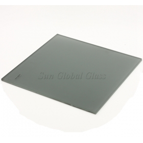 China 5mm Euro gray acid etched glass,5mm Light gray frosted glass,5mm gray acid etched glass factory