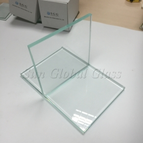 China 5mm Tempered Low Iron Starphire Ultra Clear Glass, 5mm Extra Clear Tempered Glass, 5mm Toughened Starfire Low Iron Glass factory
