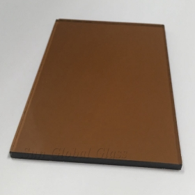 China 5mm dark bronze float glass, 5mm gold bronze tinted glass, 5mm   tinted brown glass factory