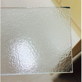 China 5mm rain clear pattern glass manufacturer,5mm rain rolled glass supplier,5mm clear figured glass on sale factory