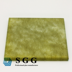 China 6.38mm eva laminated glass,3mm+0.38mm+3mm eva film laminated glass,3mm+3mm eva interlayer laminated glass factory
