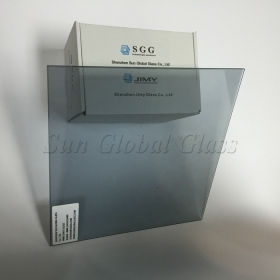 China 6mm Low E  tempered glass, 6mm tempered Low E  tempered glass, 6mm line Finish-emissivity tempered glass factory