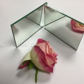 China 6mm copper free silver mirror glass, 6mm copper and lead free mirror, 6mm silver mirror without copper coating factory