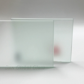 China 8MM Clear Frosted Glass, 8MM Acid Etched Clear Glass, 8MM Acid Etched Frosted Glass Panel factory