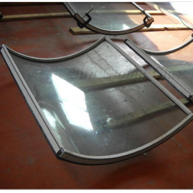 China 8mm+9A+8 mm bent  insulated glass,8mm+9A+8 mm bent  insulated glass,Curved bent  hollow glass panel factory