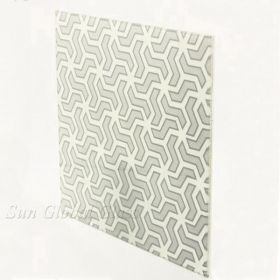 China 8mm silk screen printing glass,silk printing toughened glass 8mm,flat screen printing 8mm factory
