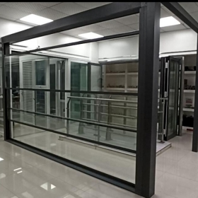 China Automatic Retractable Sliding insulated Glass Roof Systems,Automatic Retractable Skylight Glass Roof Systems,motorized and retractable Opening Glass Canopy Systems factory