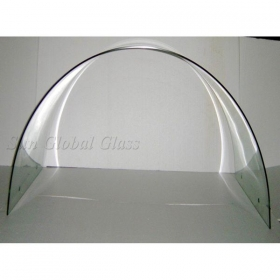 China Bespoken 11.14 mm thick Clear Annealed Laminated Bending Glass, 11.14 mm Bent Clear Float Glass Laminated, Customized bed Hot Bent 11.14 mm Laminated Clear Float Glass factory