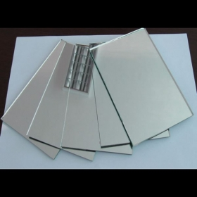 China Double Coated 4mm Silver Mirror Glass factory
