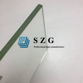 China Flat& bent 17.52mm laminated glass, Flat& Curved 8.8.4 tempered laminated glass, 17.52mm toughened glass laminated factory