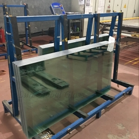 China customized size & shape 4mm half tempered glass panels, 4mm heat strength glass, 4mm heat strengthened glass factory