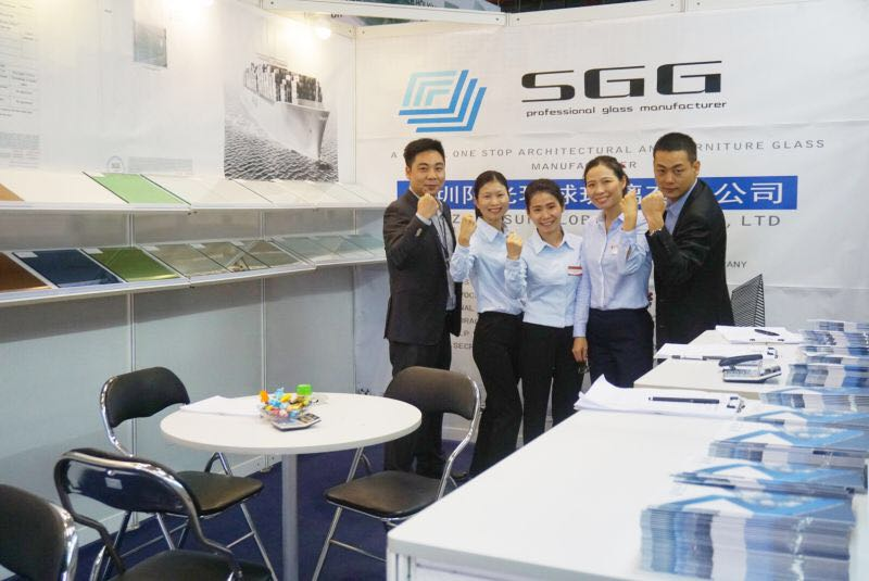 SUN GLOBAL GLASS besuchen 2016 Vietnam International Glass Technology Exhibition