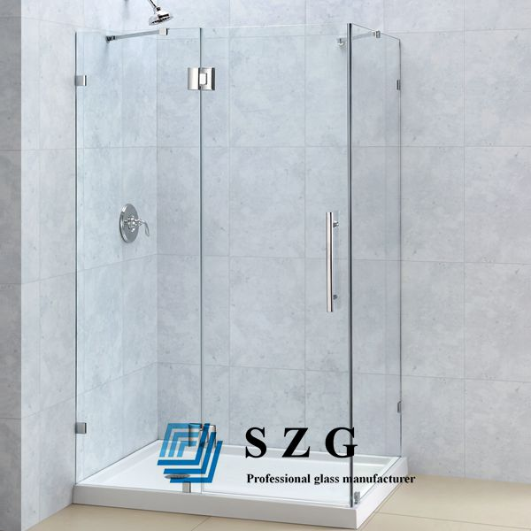 What's the appropriate thickness of shower door glass?