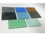 What kind of experiences for the tinted float glass?